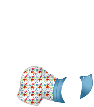 Bleu Pastel Ferret