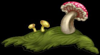 Mushroom Grass 2 Enchanted Forest