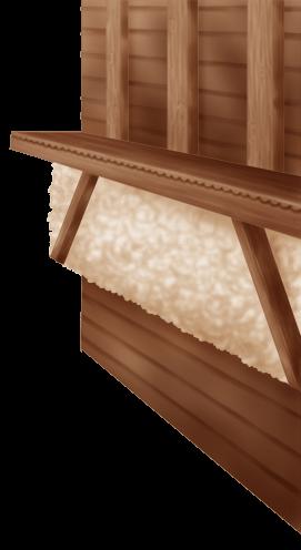 Interior Wall Chalet