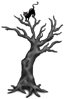 Halloween Twisted Tree