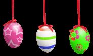 Hanging eggs