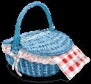 Closed Basket Picnic