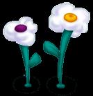 Cloud flowers