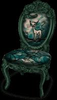 Dark Castle Chair