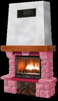 Santa Fireplace