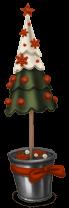 Christmas market Christmas tree