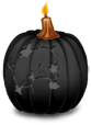 Great candle Halloween 2018