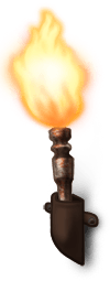 Halloween torch