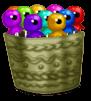 Halloween Lollipops Basket