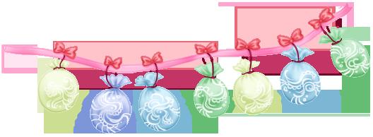 Garland Balloons Wedding Cake