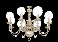 Glamor chandelier