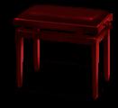 Pianist's bench