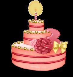3 years cake