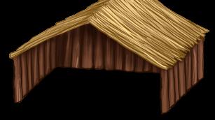 Large wooden Maisonette