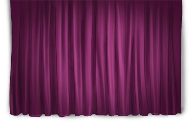 Artist background curtain