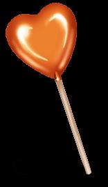 Choco heart pacifier