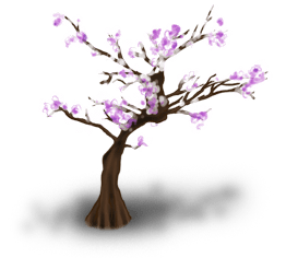 Flowery tree