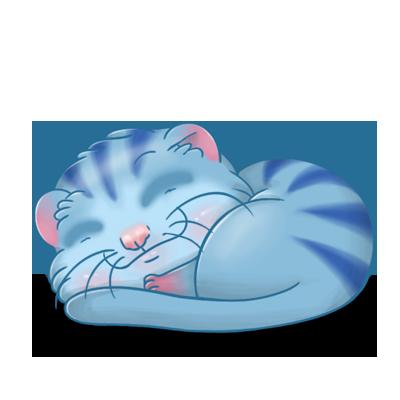 Adopt a Blue tiger Ferret
