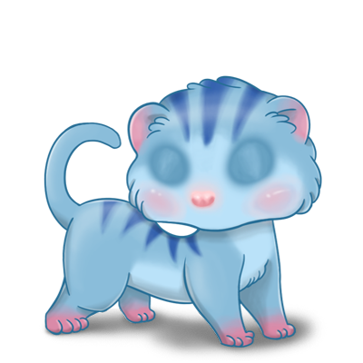 Adopt a Blue tiger Ferret