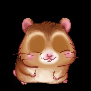 Beige doré Hamster