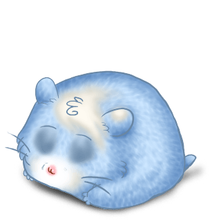 Adopt a Pastel Blue Hamster