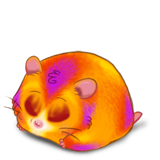 Adopt a Halloween Hamster