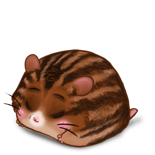 Adopt a Brown striped Hamster