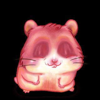 Adopt a Peach Hamster