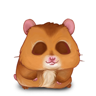 Adopt a Roux Aries Hamster