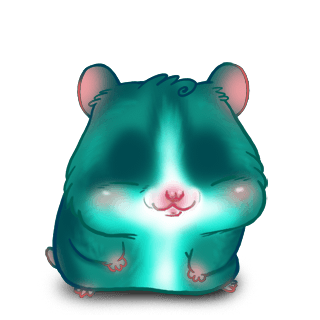 Adopt a Turquoise Hamster