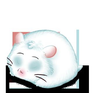 Adopt a Snow Hamster