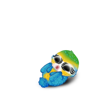 Adopt a Blue macaw Rabbit