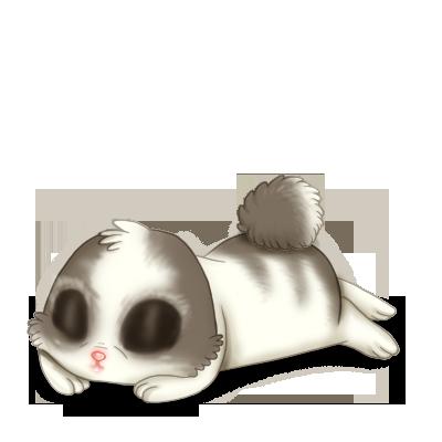 White and Gray Rabbit