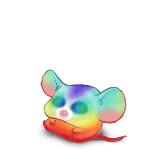 Adopt a Rainbow Mouse
