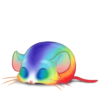 Adopt a Rainbow Mouse