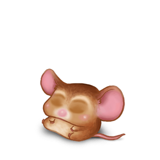 Adopt a Golden beige Mouse