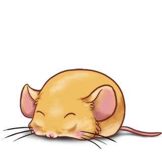 Classic apricot Mouse
