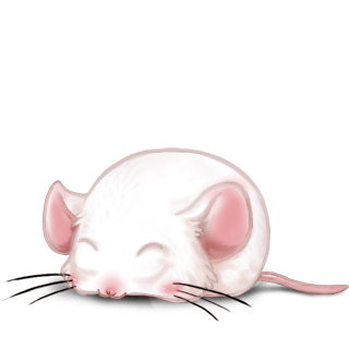 Adopt a Pastel Blue Mouse