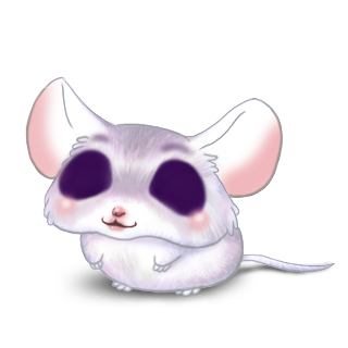 Adopt a Violin Gray Mouse