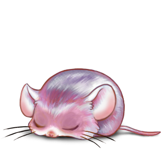 Adopt a Rose Quartz Mouse