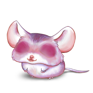 Adopt a Rose Quartz Mouse