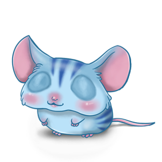 Adopt a Blue tiger Mouse