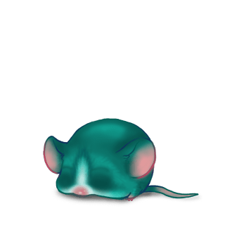 Adopt a Turquoise Mouse