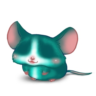 Turquoise Mouse