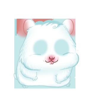 Paillettes Hamster