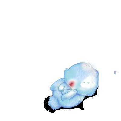 Adopt a Blue Pastel Rabbit