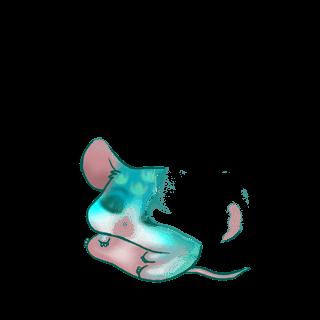 Adopt a Pastel Blue Mouse