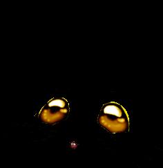 Adopt a Golden glitter Mouse
